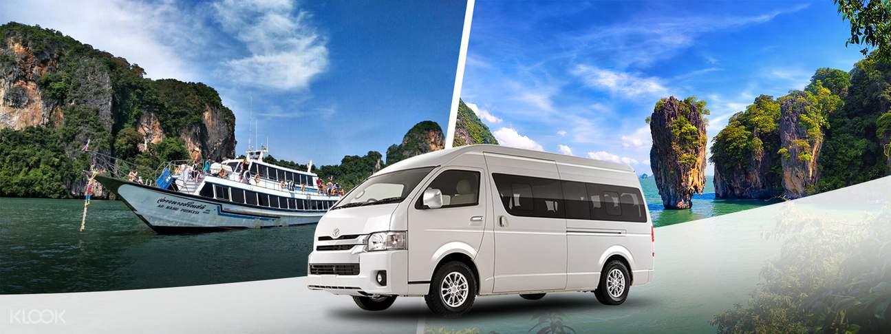 ferry service with transfers ao nang princess