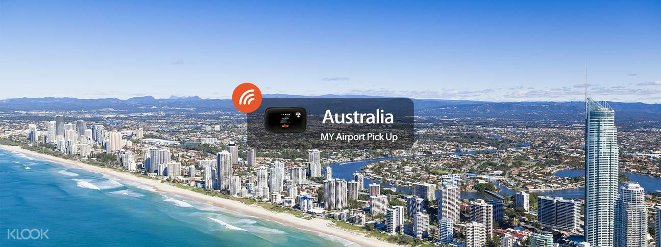 4G WiFi (KUL Airport Pick Up) for Australia