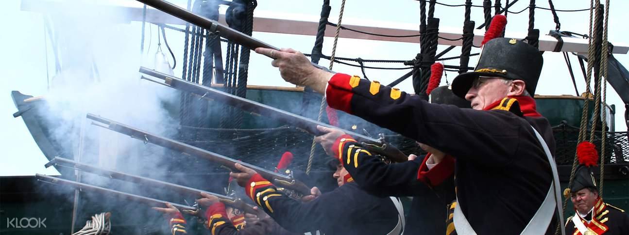 波士頓USS護衛艦巡航之旅