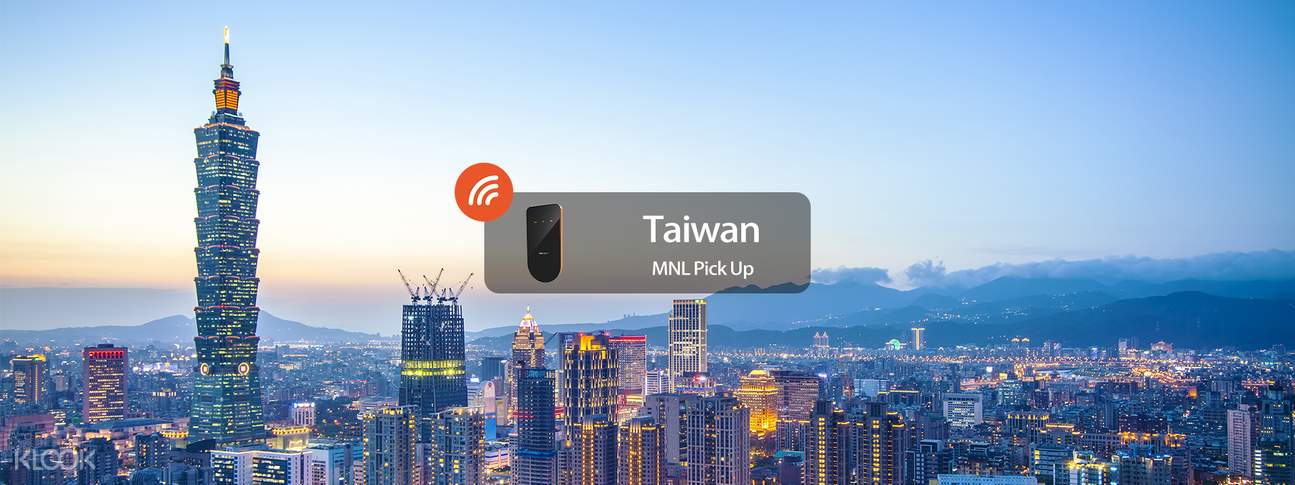 3G/4G WiFi (MNL Home Delivery) for Taiwan