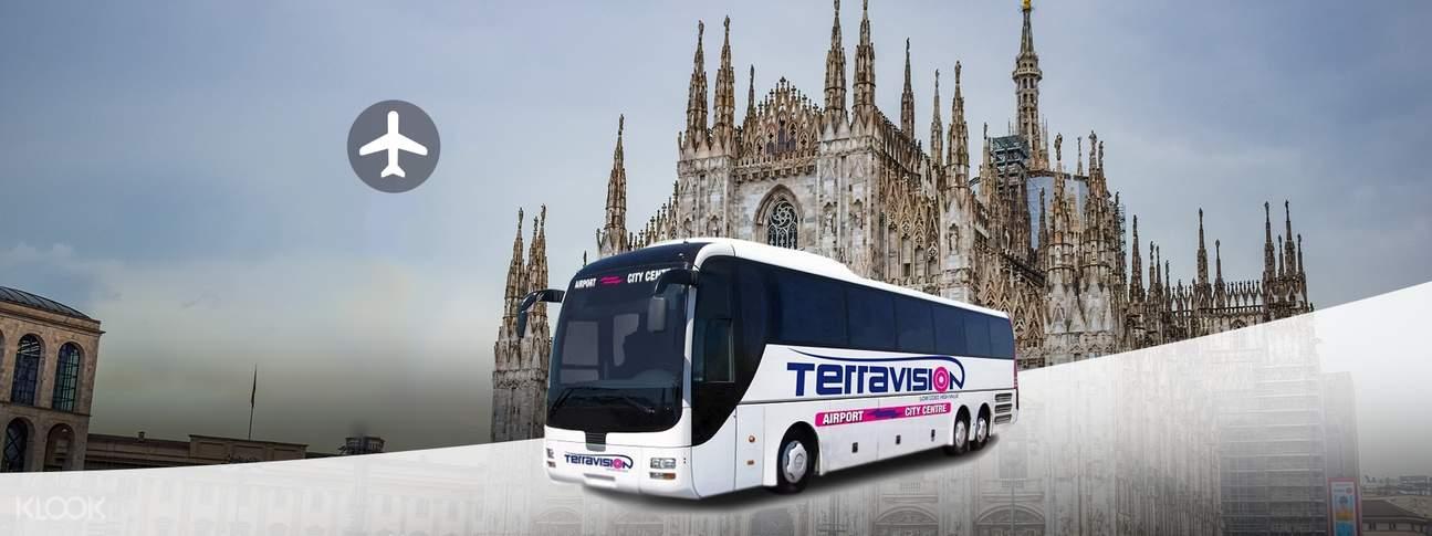 terravision shuttle bus