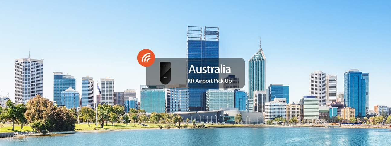 4G WiFi (KR Airport Pick Up) for Australia from WIDEMOBILE