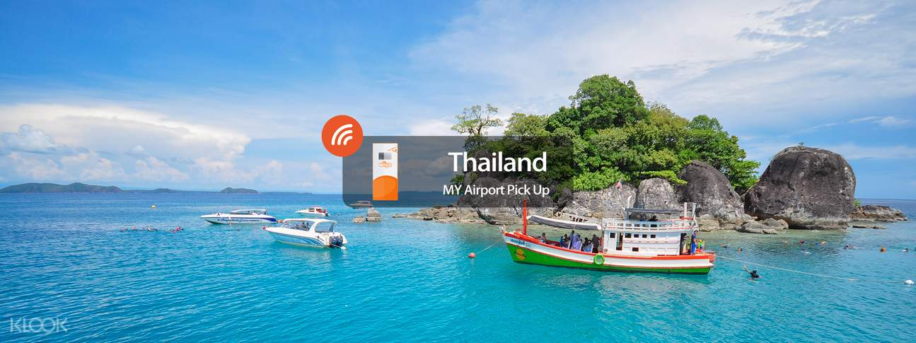 3G WiFi (KUL Airport Pick Up) for Thailand