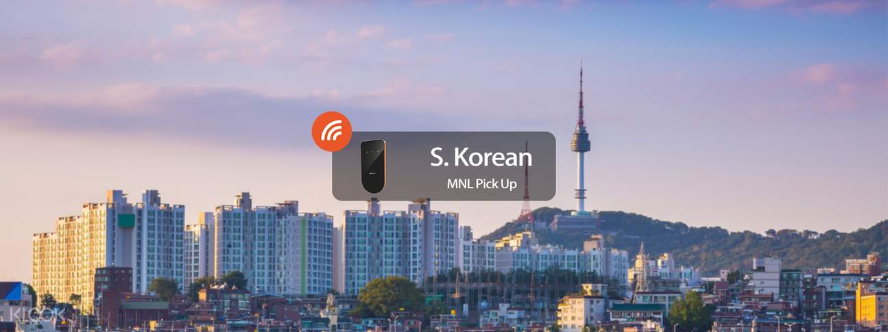 3G/4G WiFi (MNL Delivery) for South Korea