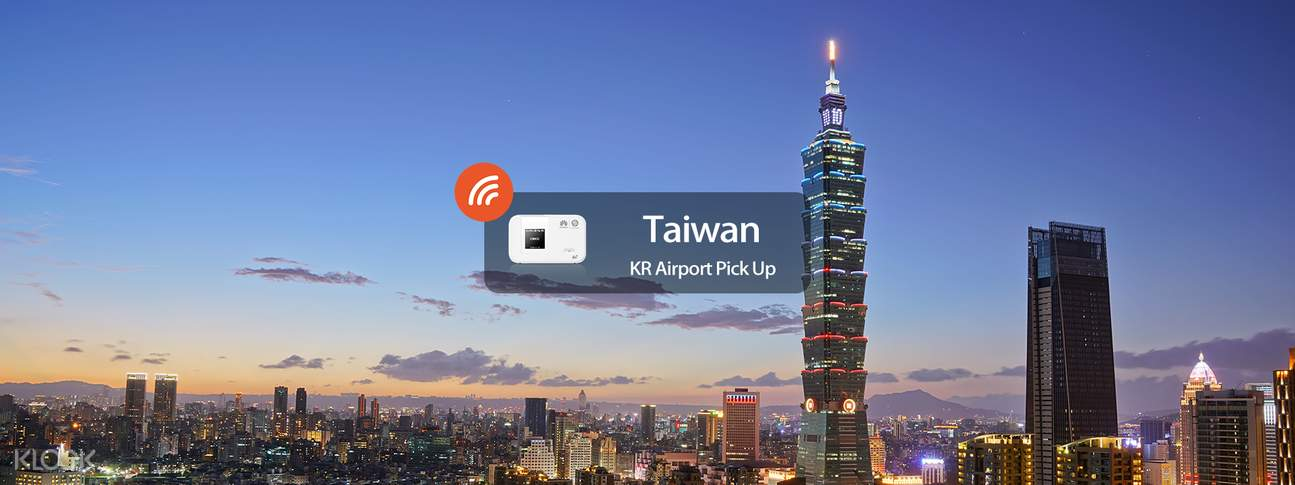 4G WiFi WIDEMOBILE for Taiwan