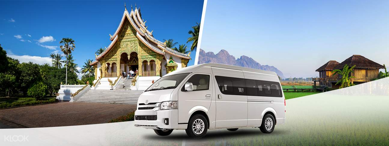 Shared City Transfers Between Vang Vieng & Luang Prabang