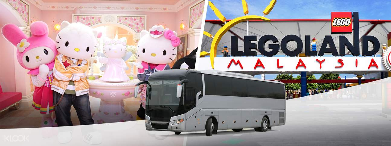 Legoland & Hello Kitty Town Transfers from Singapore