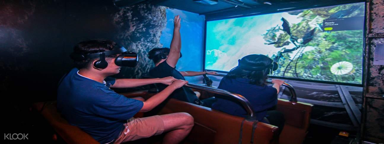 HeadRock VR Extreme Train
