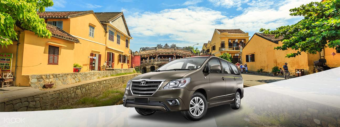 hoi an city private car charter
