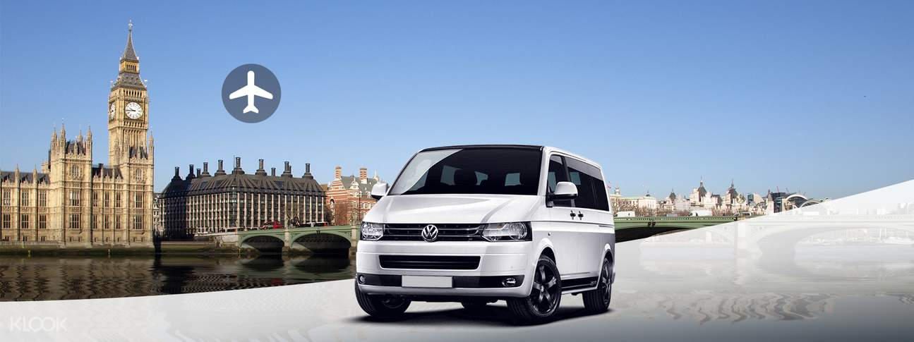 Shared London Airport Transfers (LHR, LGW, STN, LTN, LCY) to or from Central London