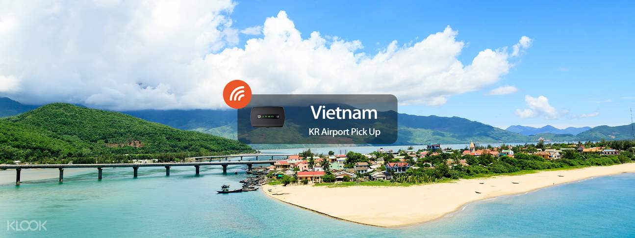 4G WiFi (KR Airport Pick Up) for Vietnam from WIDEMOBILE