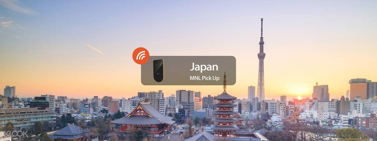3G/4G WiFi (MNL Pick Up/Delivery) for Japan