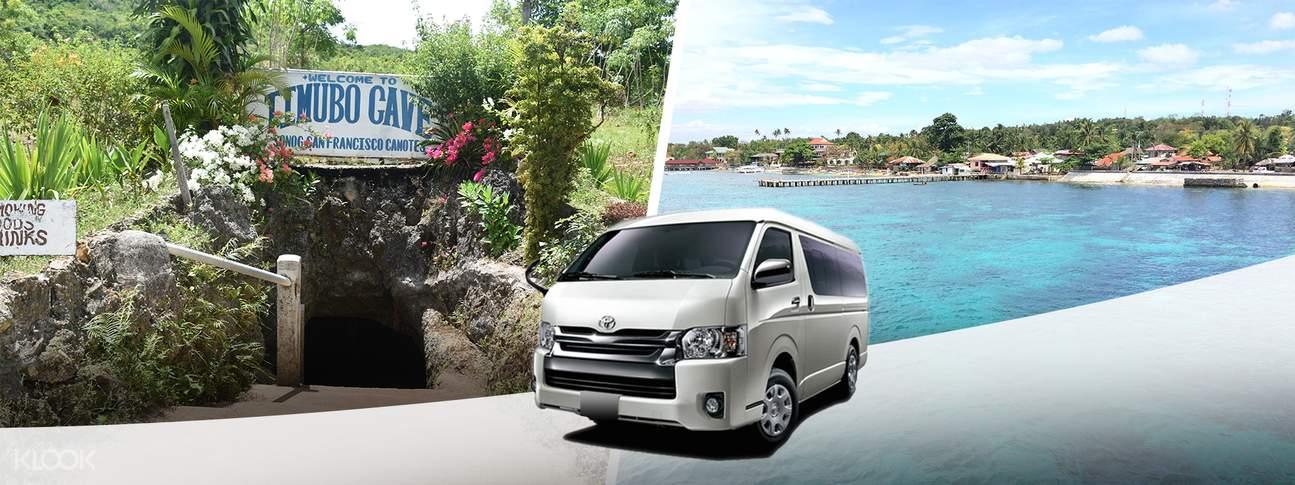 shared van transfers danao cebu city mactan