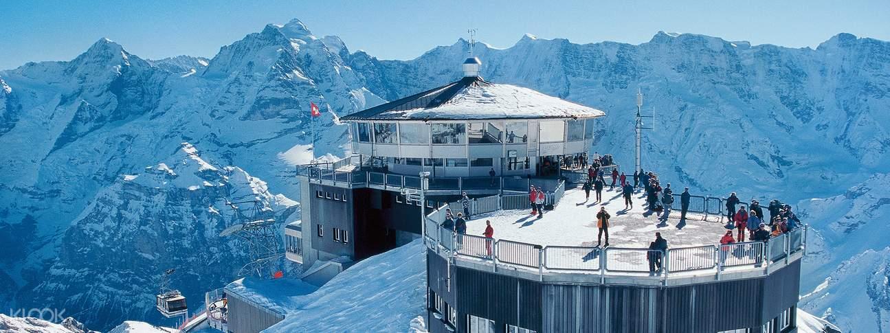 Mount Schilthorn Round Trip Ticket in Switzerland