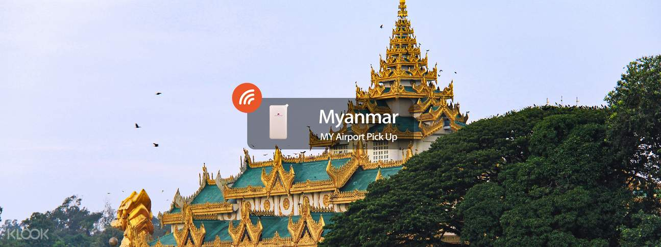 4G/3G WiFi (MY Airport Pick Up) for Myanmar