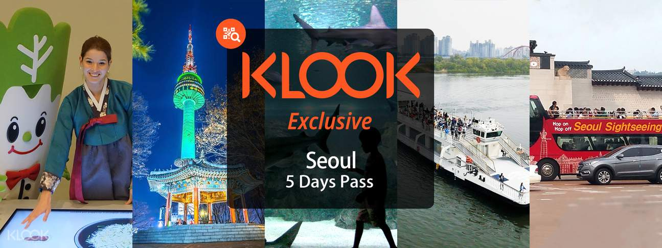Klook Exclusive Seoul Day Pass Seoul