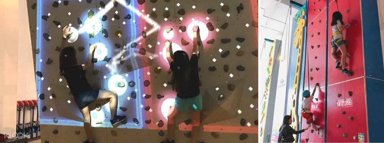 Let'em Play 增强现实抱石乐趣攀岩体验