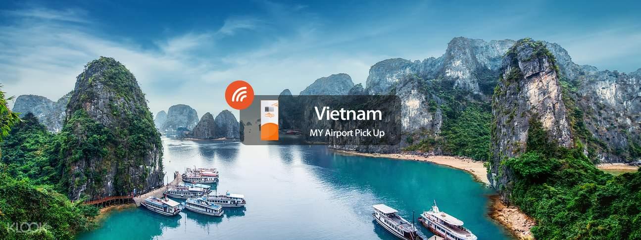 3G WiFi (KUL Airport Pick Up) for Vietnam