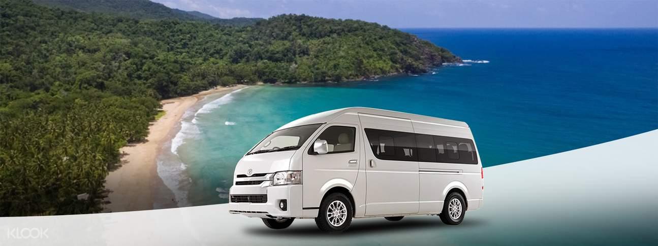 包車遊覽公主港那格塔崩海灘& Talaudyong海灘
