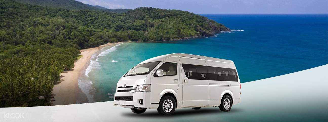 Nagtabon Beach or Talaudyong Beach Private Car Charter for Puerto Princesa