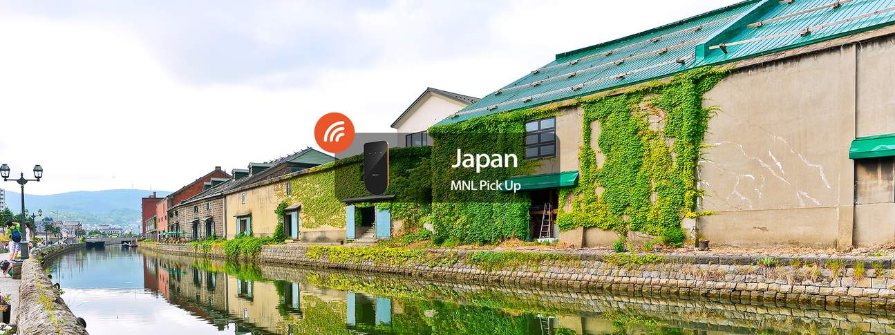 3G/4G WiFi (MNL Home Delivery) for Japan