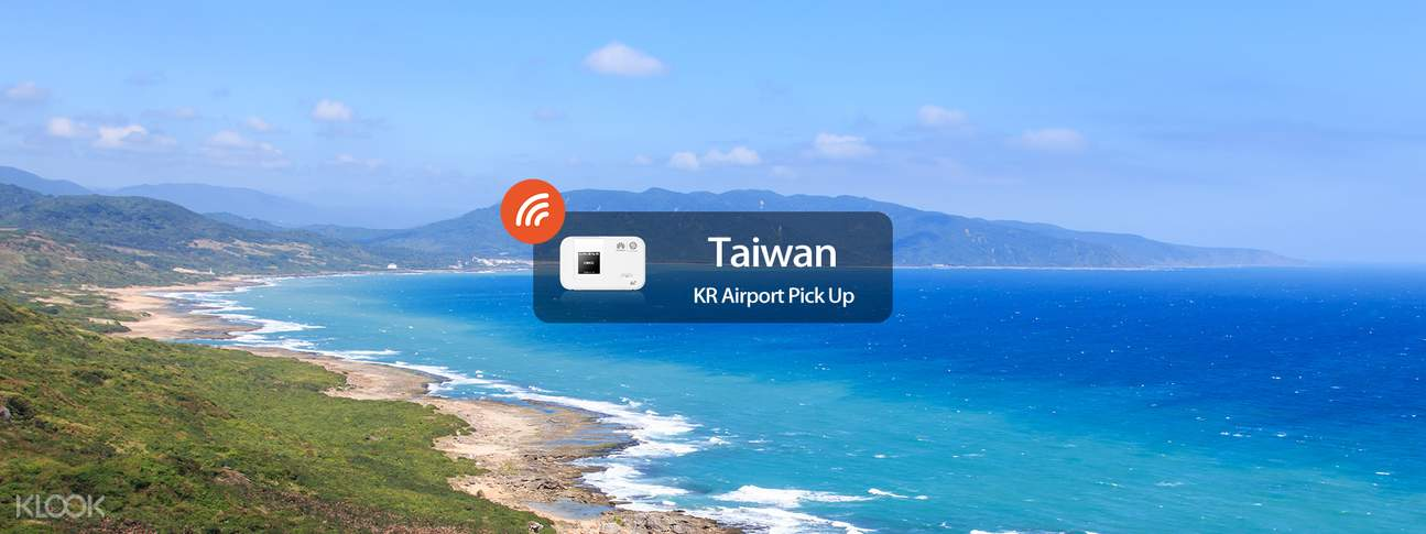 4G WiFi WIDEMOBILE for Taiwan