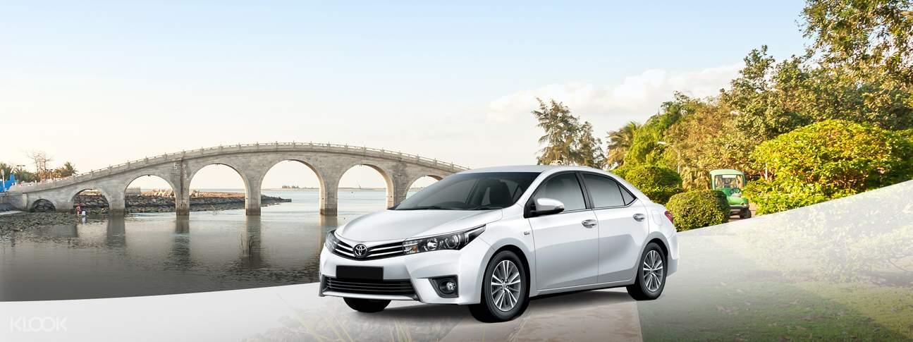 haikou private car charter