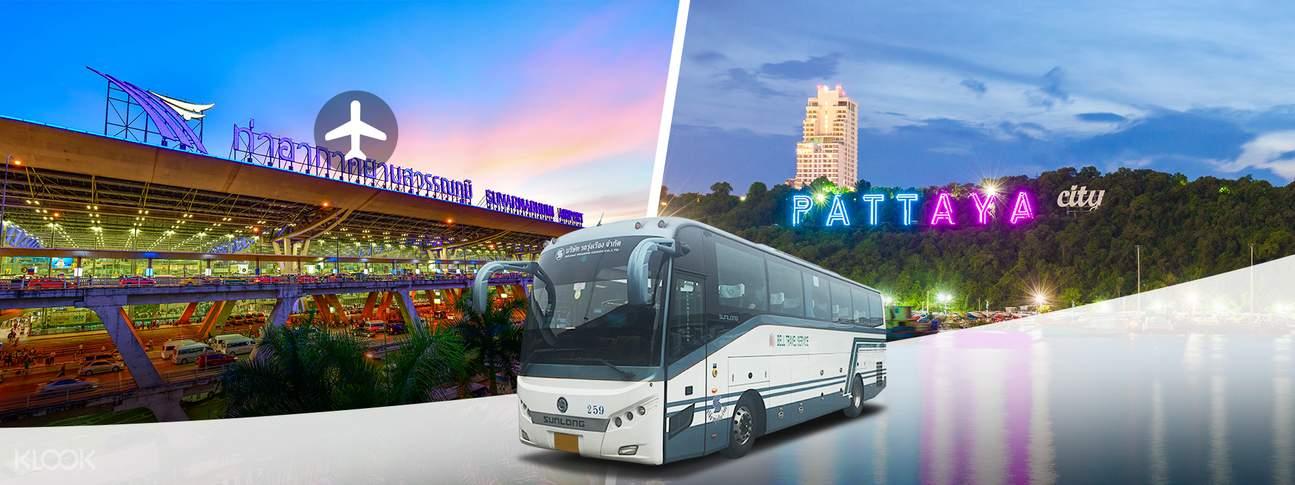 Shared Suvarnabhumi Airport Transfers (BKK) for Pattaya City
