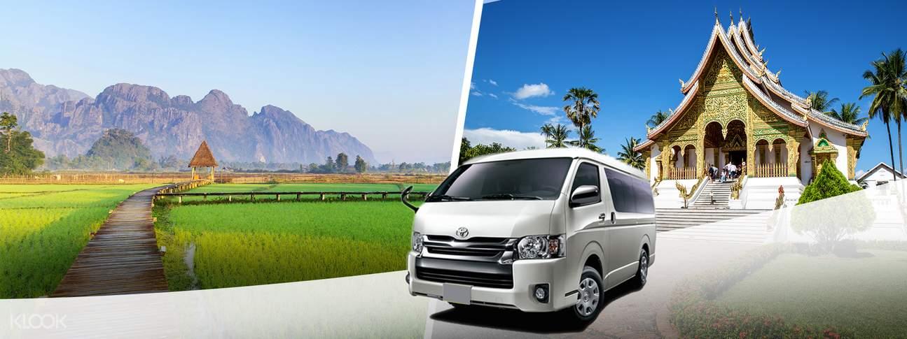 Shared City Transfers to Vang Vieng from Luang Prabang