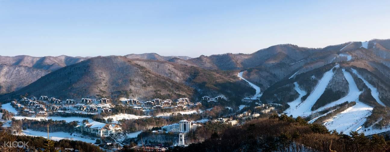 yongpyong resort from seoul