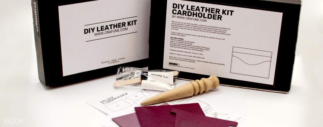 leathercraft workshop singapore