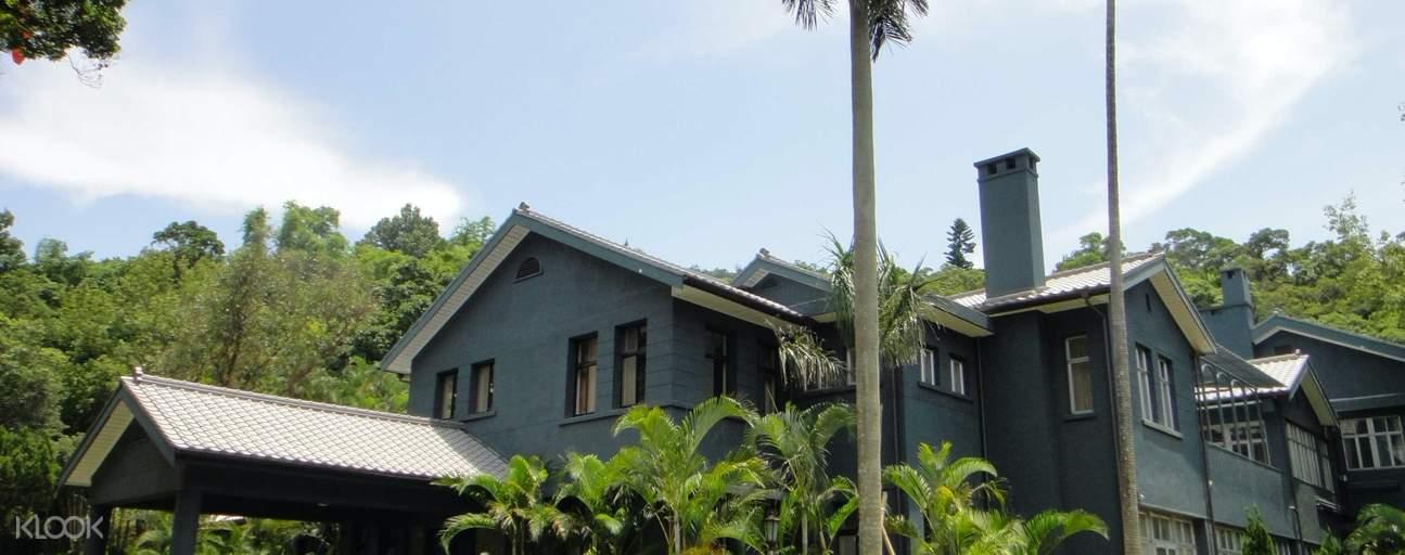 facade of chiang kai-shek shilin residence