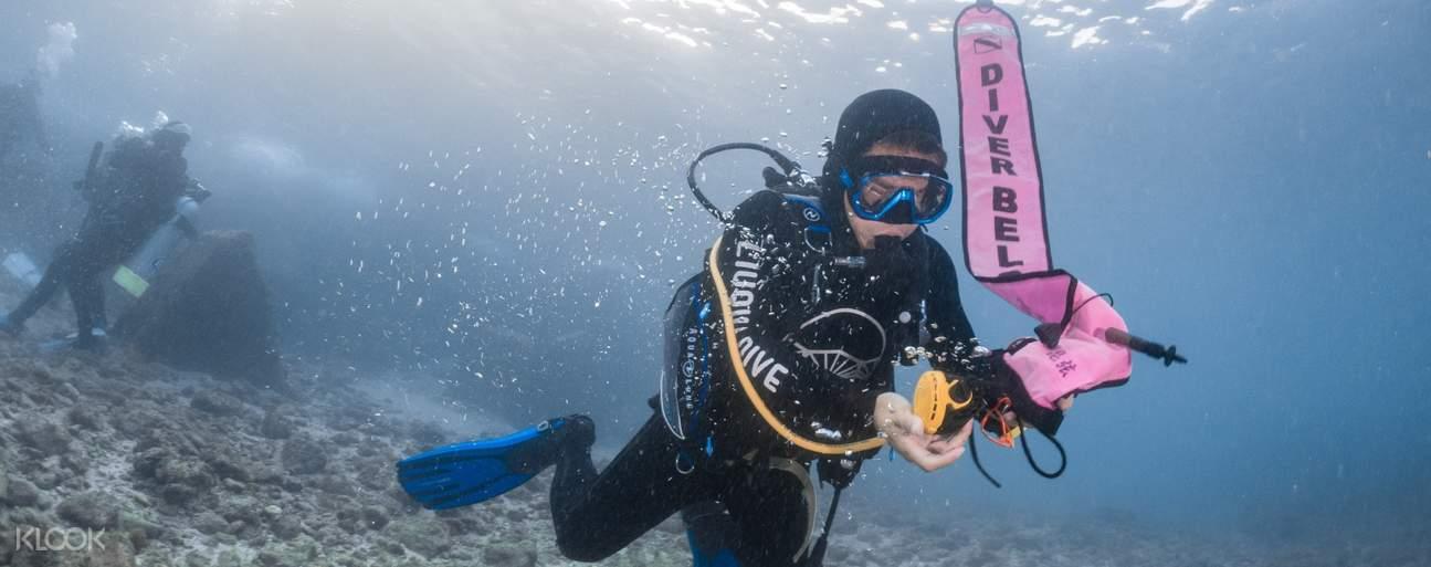 飽覽原始瑰麗的海底世界、繽紛多彩的珊瑚與多種洄游魚類