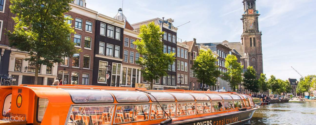 Canal Rides in Amsterdam