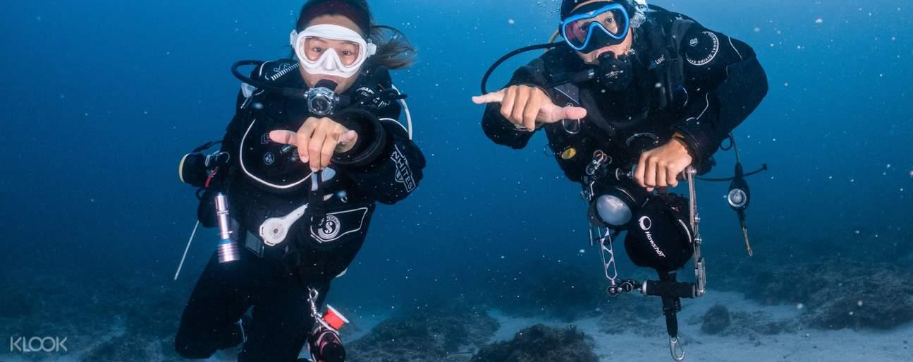 深入台灣最驚喜的潛水點,無經驗也能一窺精彩的海底世界