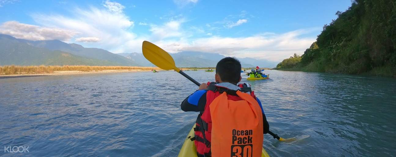 花蓮溪獨木舟體驗