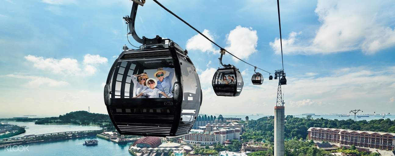 Singapore Cable Car Faber Peak
