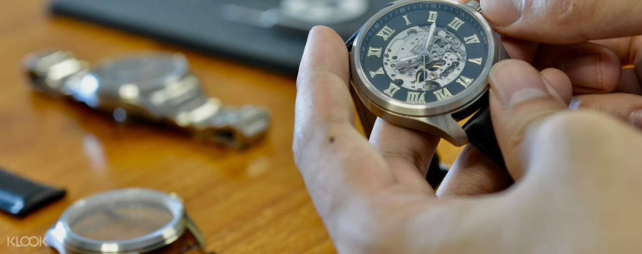 Professional Switzerland ETA certificated instructor guides you to make the watch