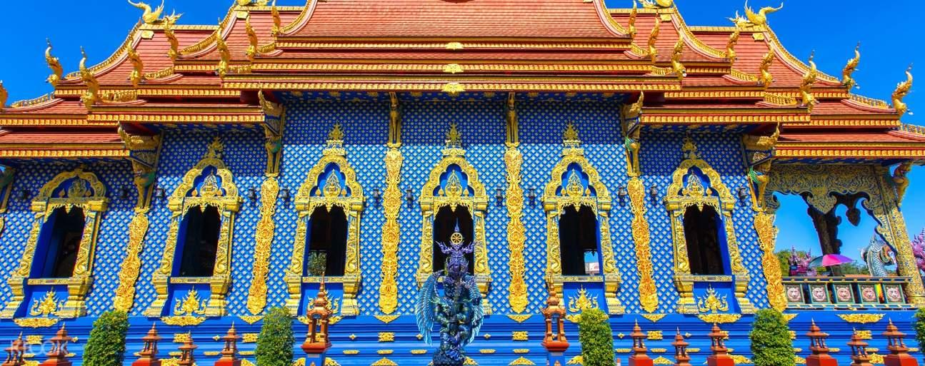 Blue Temple in Chiang Rai