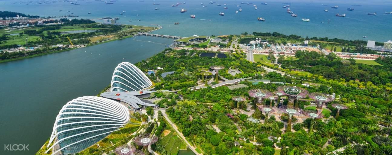 新加坡濱海灣花園門票