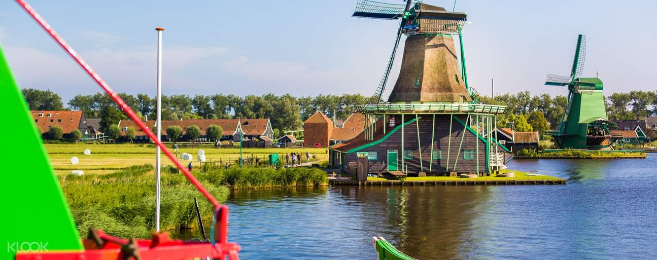 Day Trips from Amsterdam to see windmills