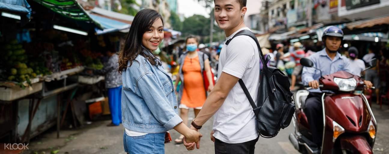 couple photoshoot in Saigon