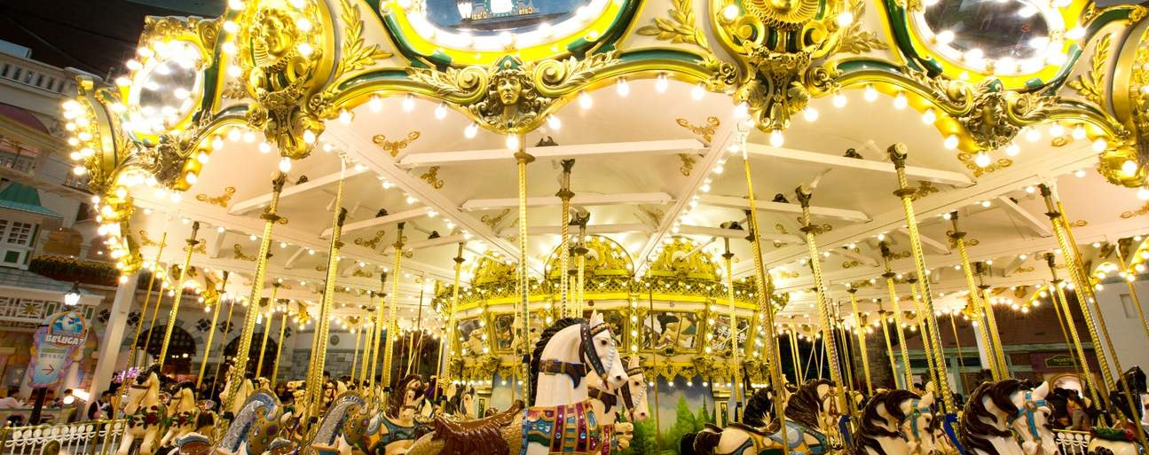 Visit South Korea's most prominent theme park and enjoy rides such as Atlantis, Gyro Swing, Camelot Carousel, and more