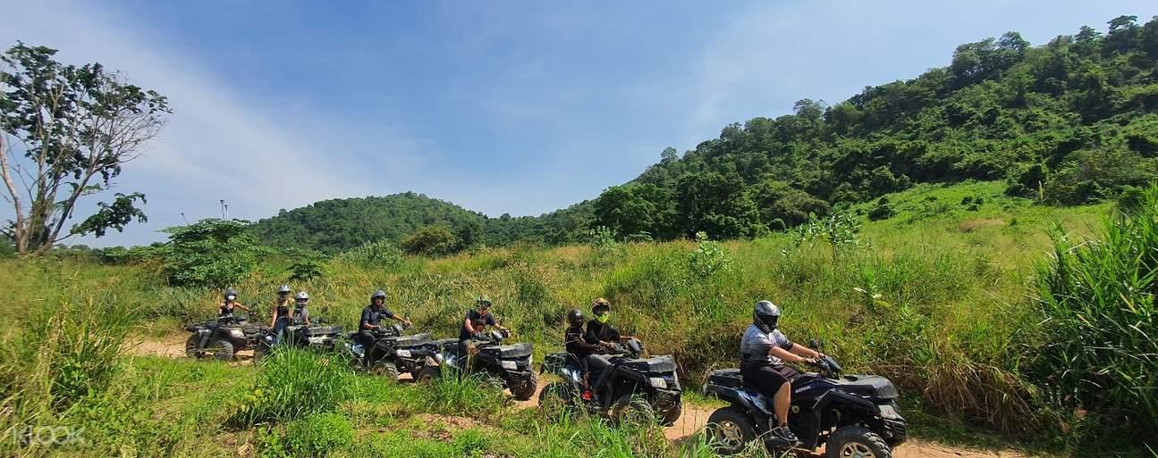 group atv in pattaya
