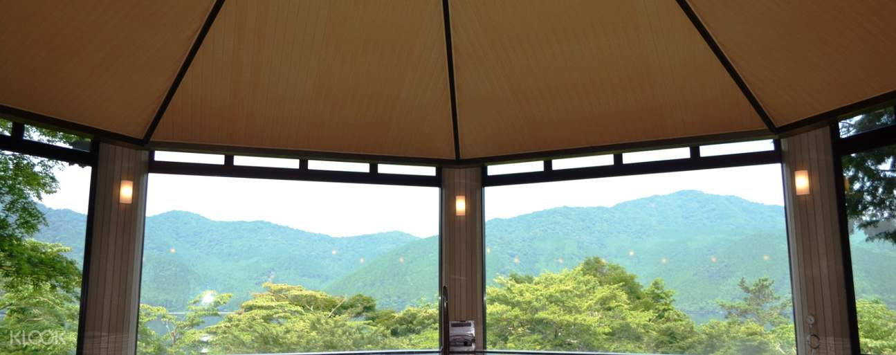view of mountains at Ryuguden Honkan