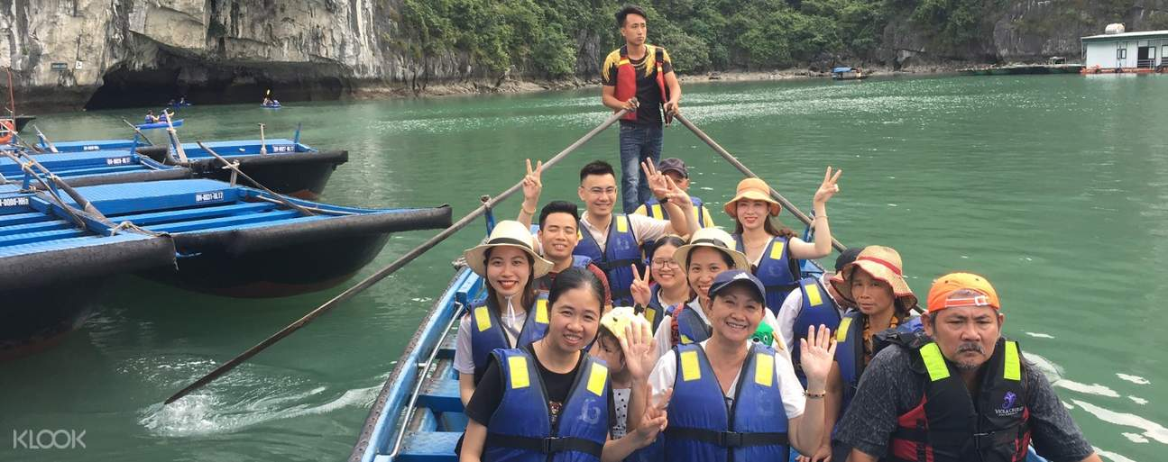 Or simply let the bamboo boat take you to the hidden gems of the bay (same price as kayaking)