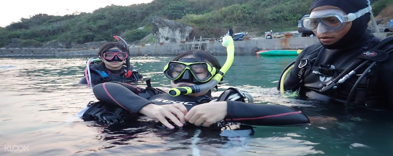 【小琉球潛水證照】 熊潛水 PADI OW 三天兩夜開放水域潛水員課程(包含住宿、船票)
