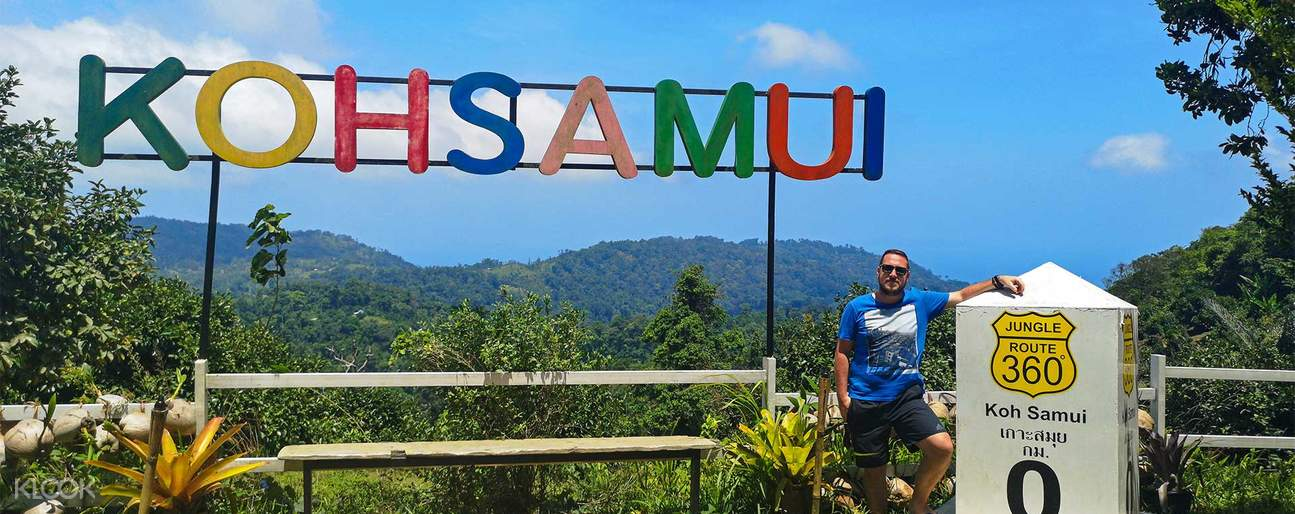Stand on the highest point of Koh Samui (613m) and has a 360 degree panoramic view over Koh Samui