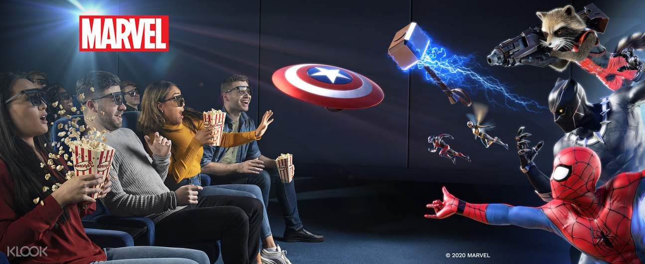 marvel 4d experience at madame tussauds hollywood