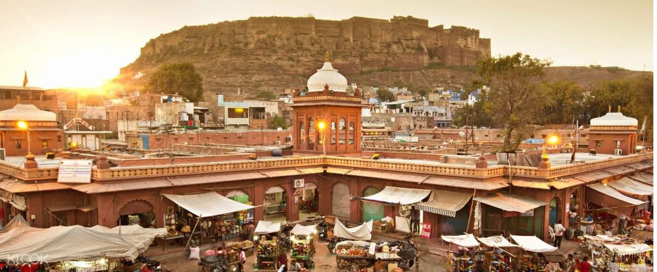 印度焦特布尔市集漫游